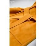 Horčicovožltý tehotenský kabát MARIETTA