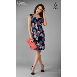 aee7a5ffaf Púzdrové tehotenské šaty aj na dojčenie MODI 2108