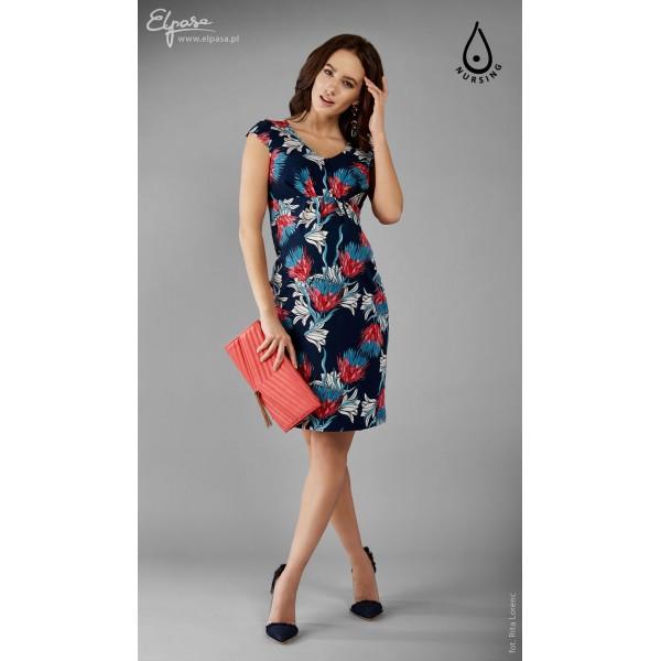 Púzdrové tehotenské šaty aj na dojčenie MODI 2108