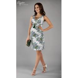 0641d60180 Elegantné púzdrové tehotenské šaty SERAFINA 2109