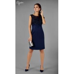 3e438cdb24 Elegantné púzdrové tehotenské šaty GRACIANNA 2139