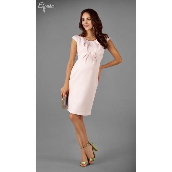 Elegantné púzdrové tehotenské šaty EMMA 2141