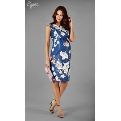 24d03b366 Elegantné púzdrové tehotenské šaty JANET 2144