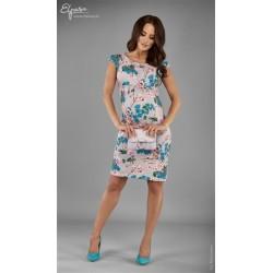 2f8c994cc4897 Elegantné púzdrové tehotenské šaty BONITA 2120