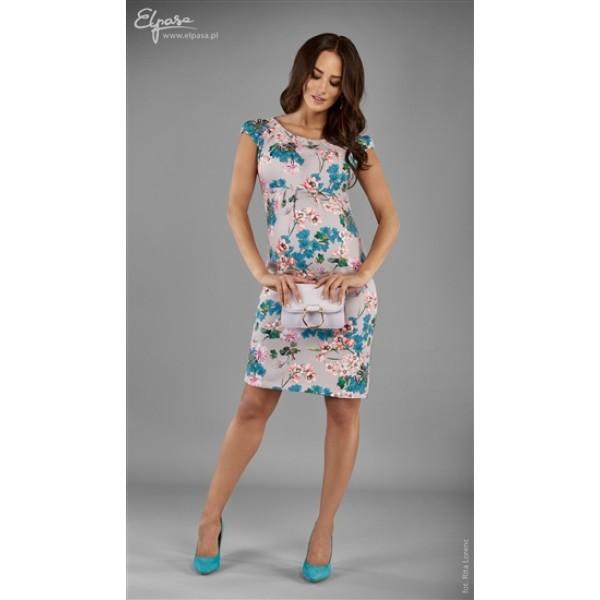 Elegantné púzdrové tehotenské šaty BONITA 2120