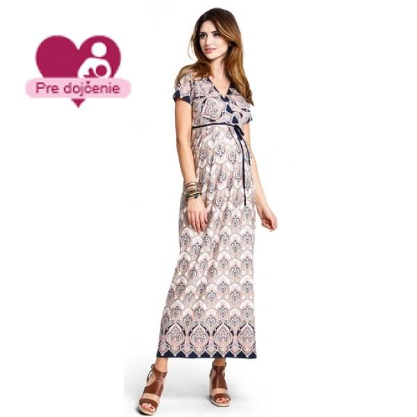 Tehotenské šaty Indiana summer - d877