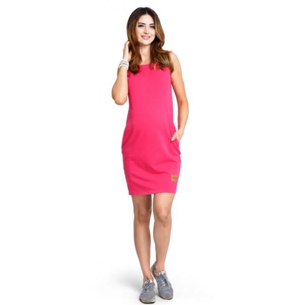 Tehotenské šaty Lemonade berry - d880a