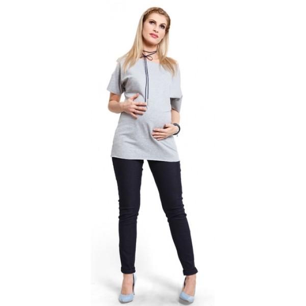 Tehotenské nohavice Jeggings - t379a
