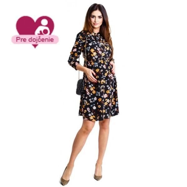 Tehotenské šaty Butterfly dress d934
