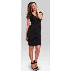 Tehotenské elegantné šaty