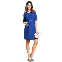 1c238490b327 Tehotenské šaty Bonita navy dress d910a