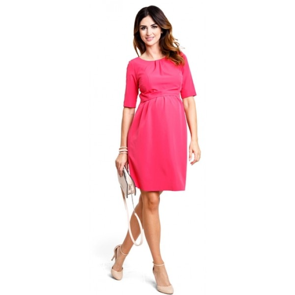 Tehotenské šaty Bonita berry dress d910b