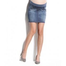 Riflová tehotenská sukňa RENNE XS 2180c41766