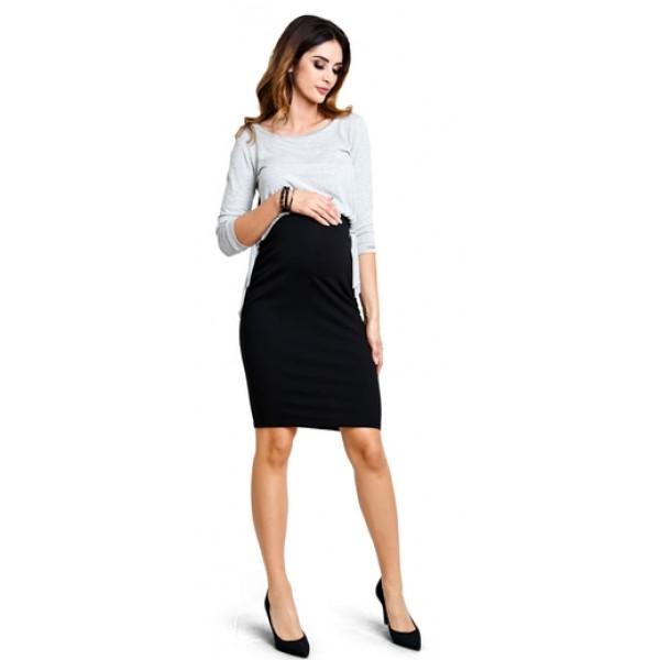 Tehotenská sukňa Basic skirt s266