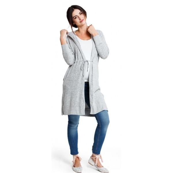 Tehotenská mikina Softwear jacket j454