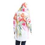 Tehotenská bunda Parka flower jacket (j451)