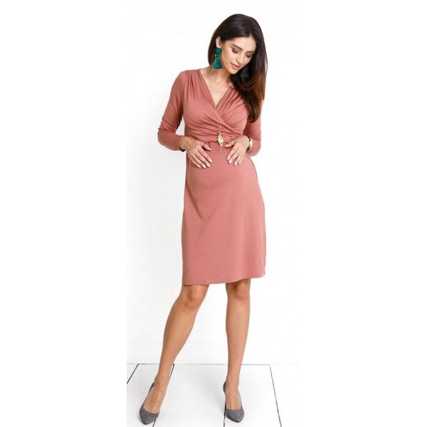 Tehotenské šaty MAMIKO Brick dress d974c