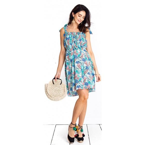 Tehotenské šaty Summer breeze dress (D1013)
