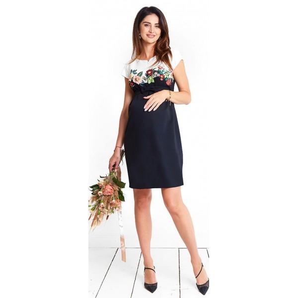 Tehotenské šaty FEMME dress d1055