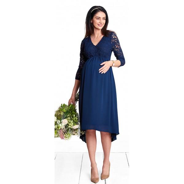Těhotenské šaty Milion dolar navy dress d1096a