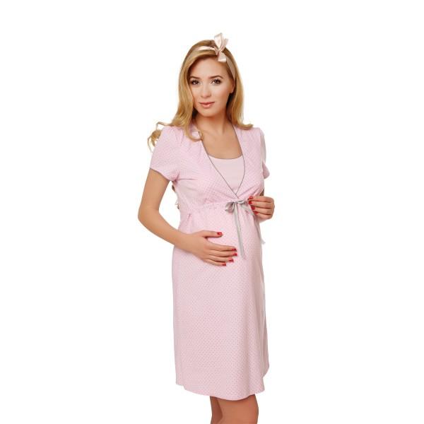 Tehotenská nočná košeľa FELICITA