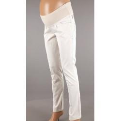 Tehotenské bavlnené béžové nohavice Branco 2851 L 744e72258e