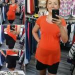 Čierne krátke tehotenské nohavice 2560