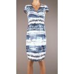 Vzorované tehotenské úpletové šaty BR4339