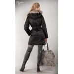 Tehotenská bunda EVA čierna - SKLADOM
