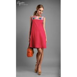 Malinové tehotenské šaty bez rukávov MADDISON L 8882471cc88