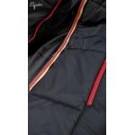 Čierna tehotenská bunda CHANTAL L