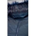 Tmavomodrá tehotenská bunda ZARA