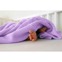 Detské pletené deky