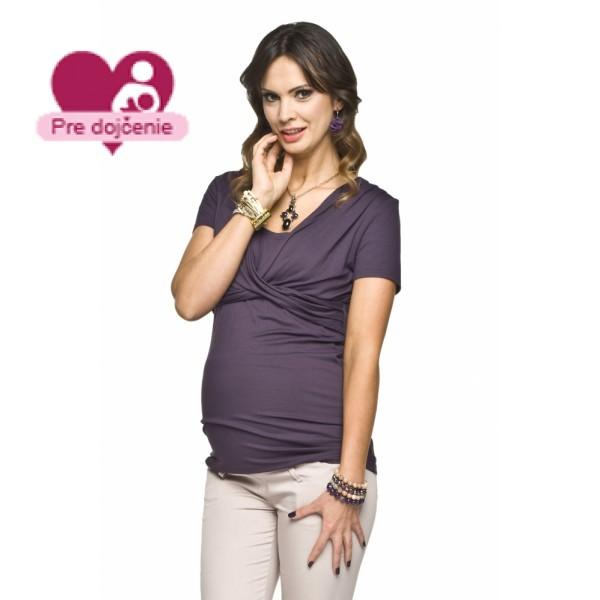 Tehotenský top ARLET Violet